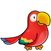 220x220 Parrot Fluff Favourites Clip Art, Bird And Animal