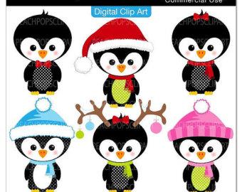 340x270 Cute Penguin Clip Art Digital Clipart Panda