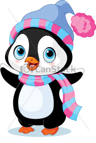 318x470 Cute Penguin Clipart Cute Winter Penguin Cute Winter Penguin