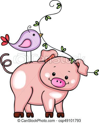 378x470 Cute Pig Clip Art Pigs Pigs Clip Art Pigs Cute Pig Happy Pig Pig