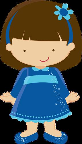 286x500 Little Girl Clipart Little Girl Clip Art Clipart Girls