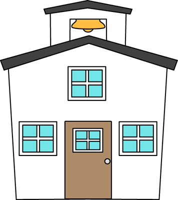 356x400 Schoolhouse Clip Art