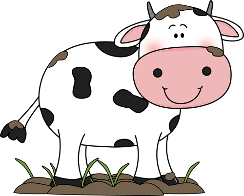 500x402 Collection Of Pig And Cow Clipart High Quality, Free