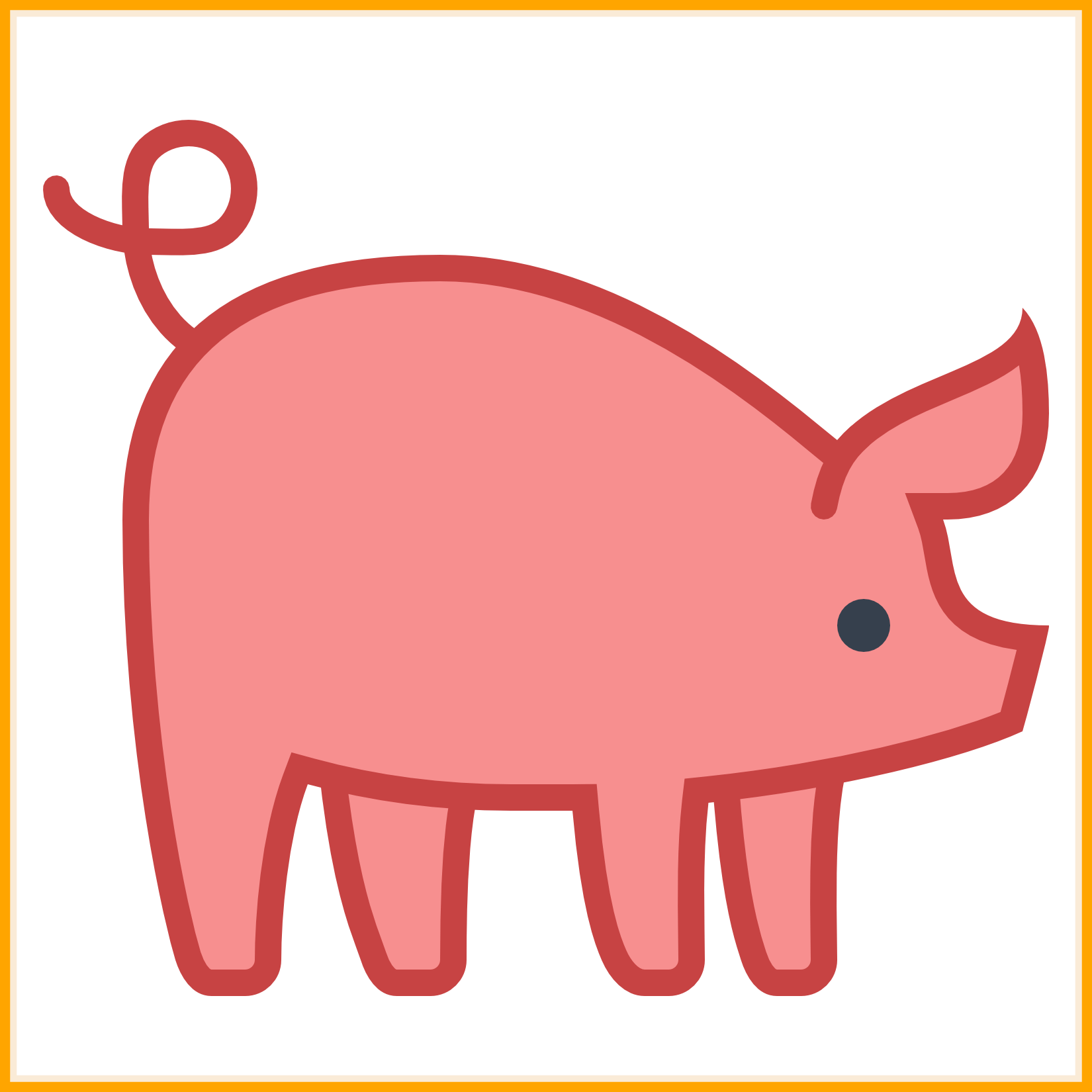 1650x1650 Fascinating Pigs Clipart Icon Collection Pic For Cute Piggy