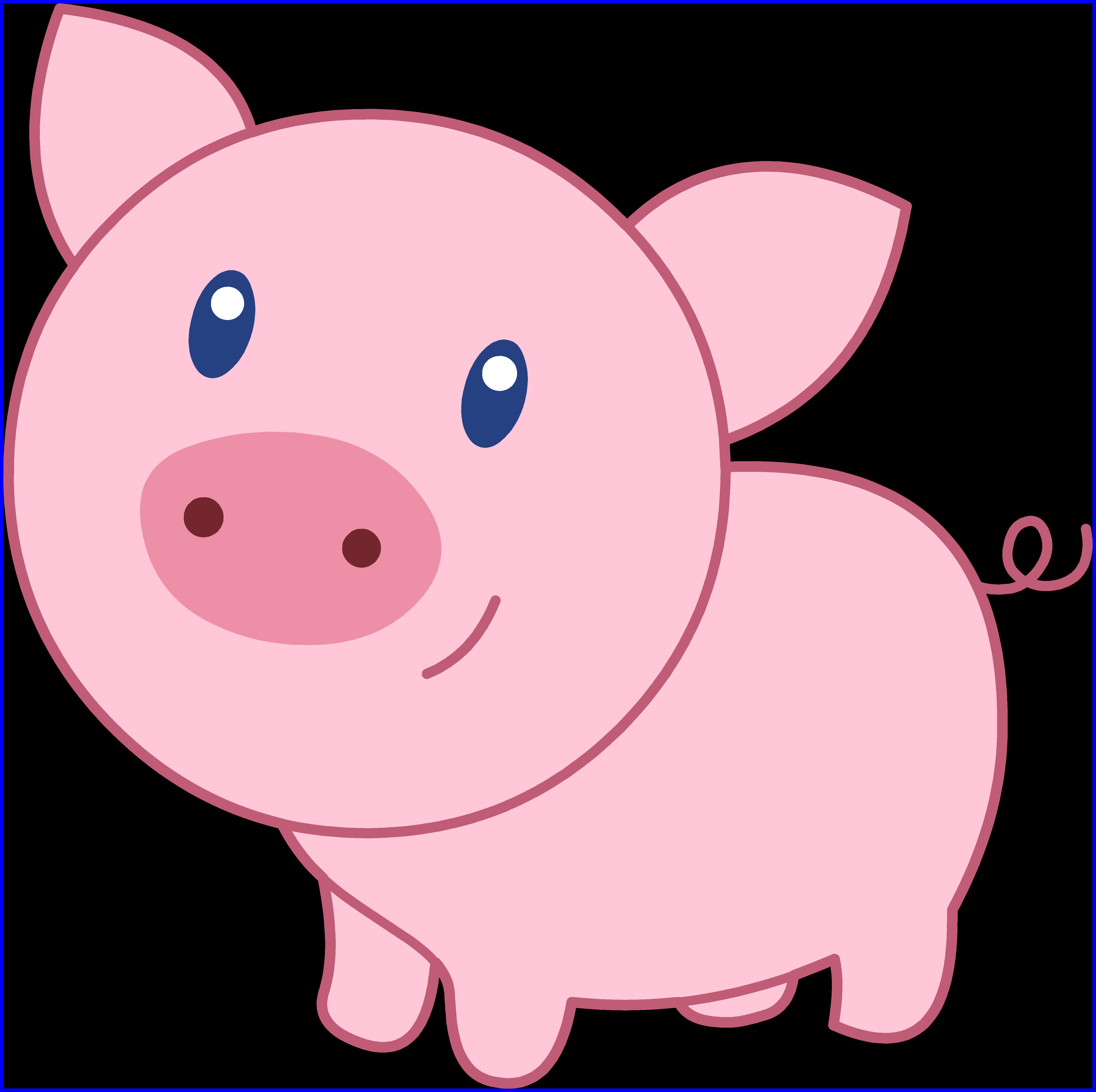 4975x4955 Unbelievable Cute Pig Face Clip Art Clipart Panda For Piggy Trend