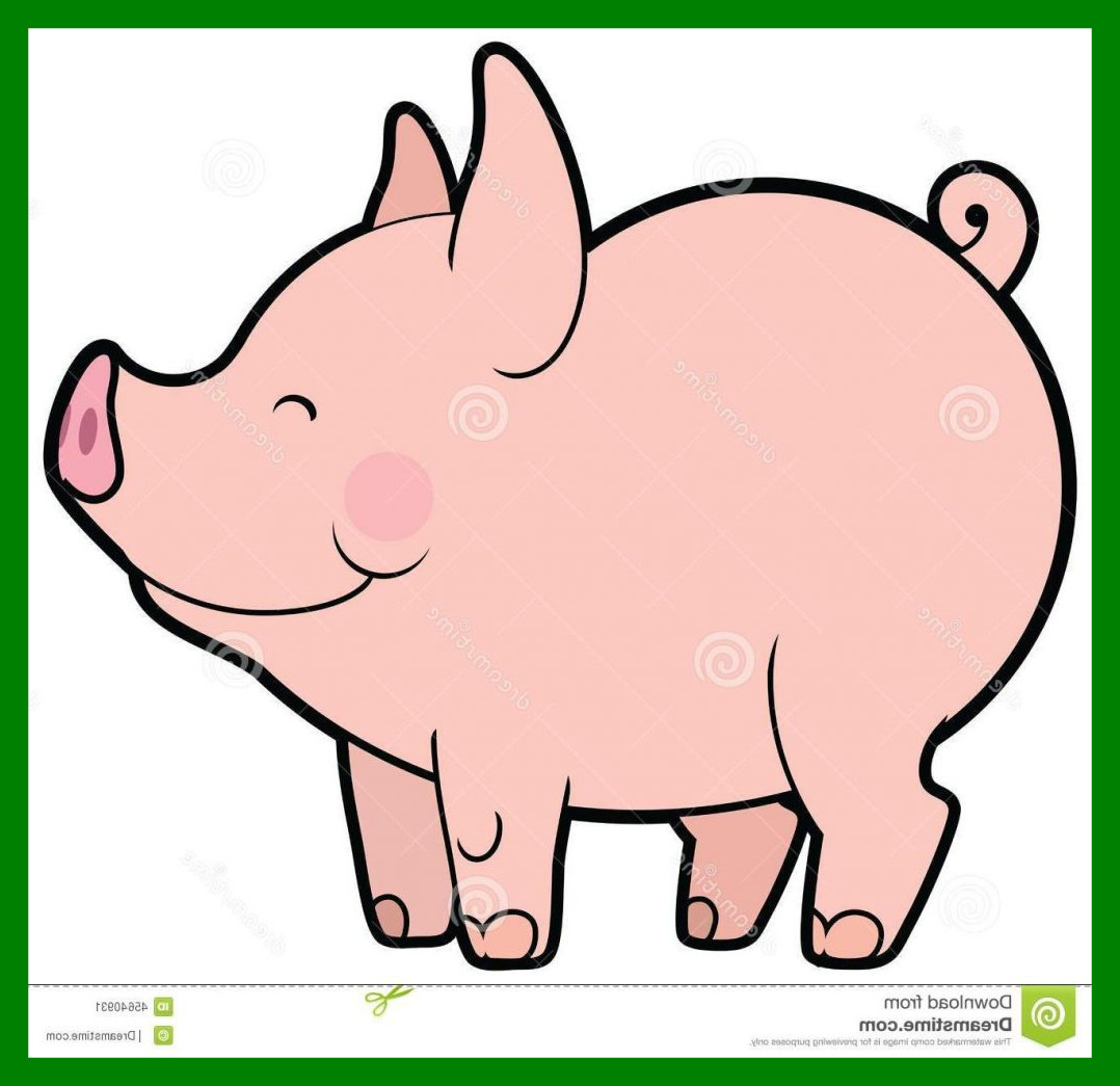 1078x1045 Astonishing Clipart Clip Art Png Cute Pig Happy For Piglet Trend