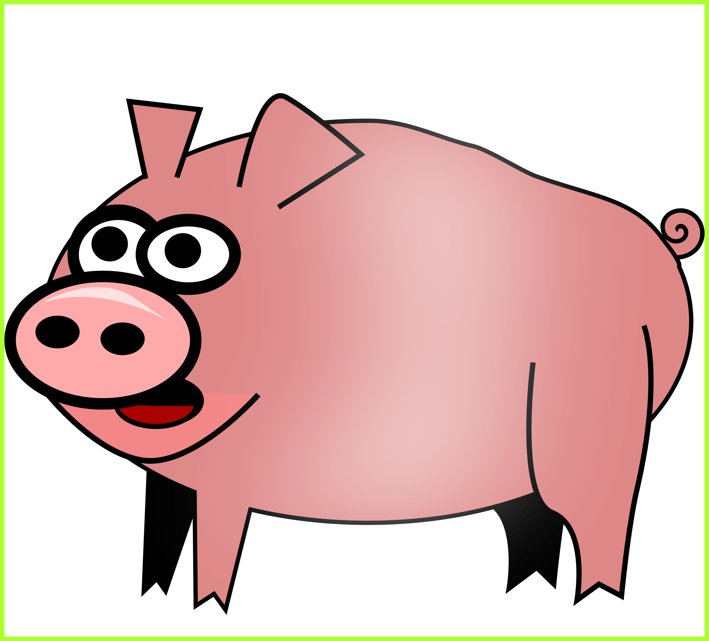 2430x2196 Best Pig Clipart No Background Clipartxtras Pic Of Cute Piggy