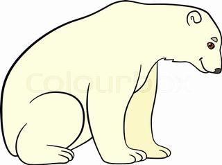 320x238 Polar Bear Clip Art Cute Polar Bear Clipart Ohmygirl.us