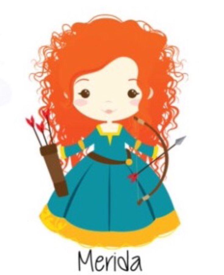 Cute Princess Clipart
