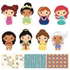 236x236 Disney Princess Clipart, Cute Princess Clip Art, Disney Party