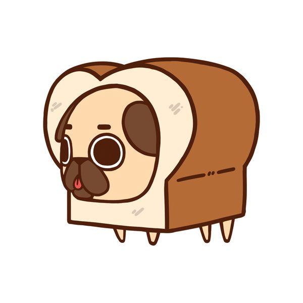 Cute Pug Clipart