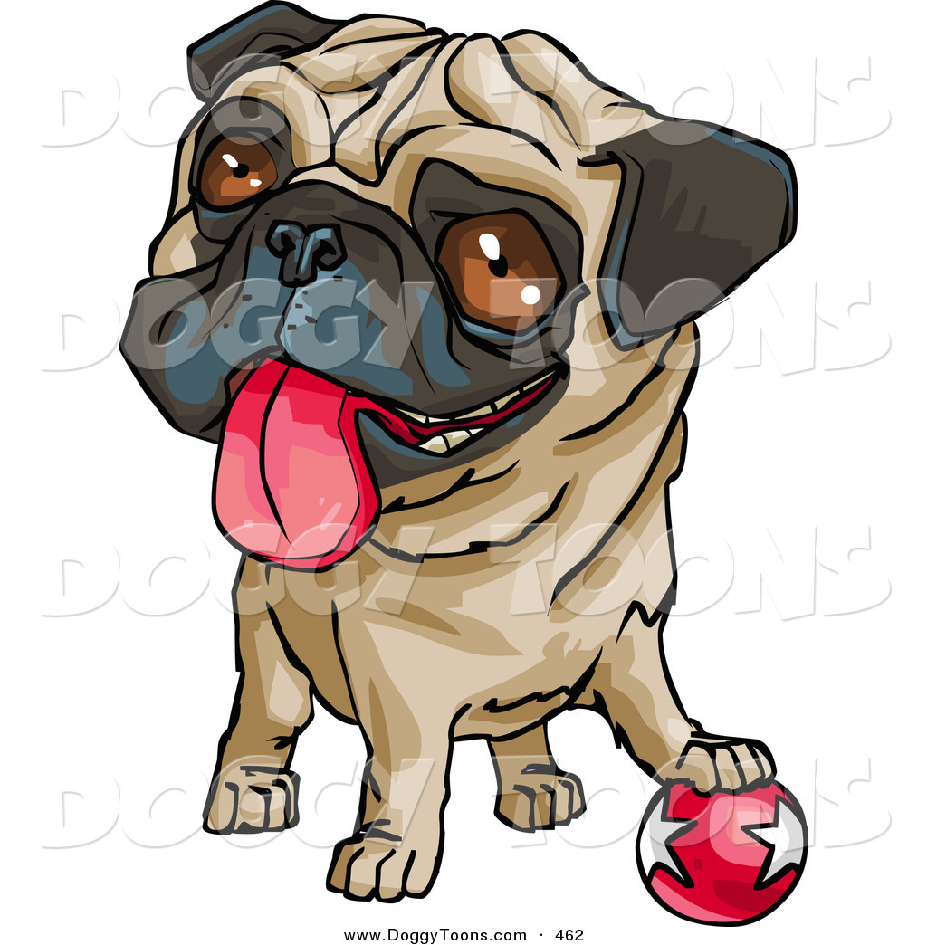 1024x1044 Doggy Clipart Of A Cute Brown Eyed Drawing Of A Pug Dog Hanging