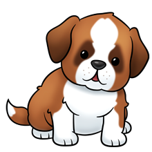 220x220 Saint Bernard Dog