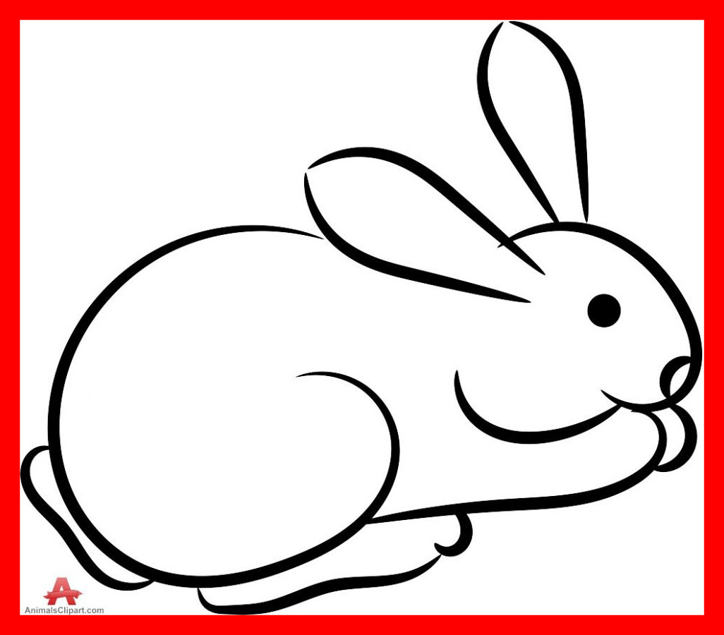 1026x900 Fascinating Rabbit Clipart Black And White U Clip Art Pic