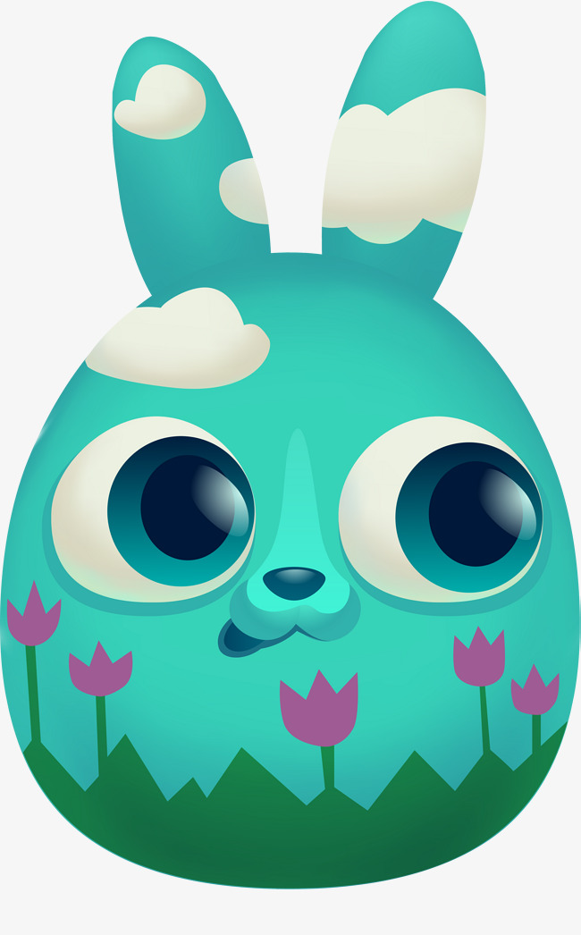650x1046 Green Cute Rabbit, Green, Lovely, Rabbit Png Image And Clipart