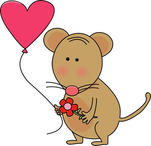 Cute Rat Clipart