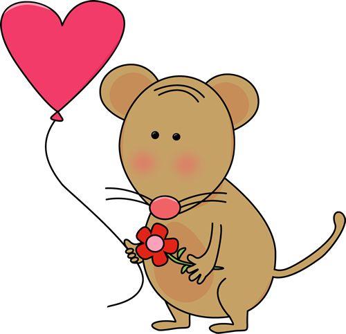 Cute Rat Clipart