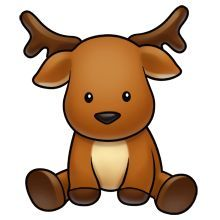 220x220 Christmas Reindeer, Cutest Pictures, Logo, Baby Rudolph, Animal