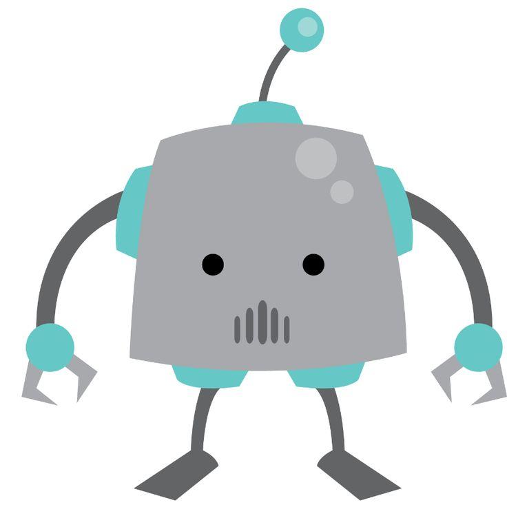 Cute Robot Clipart