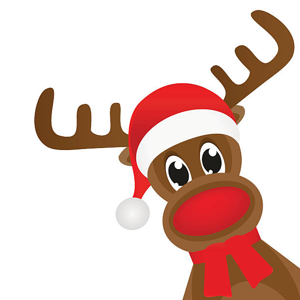 612x612 Collection Of Cute Rudolph Clipart High Quality, Free