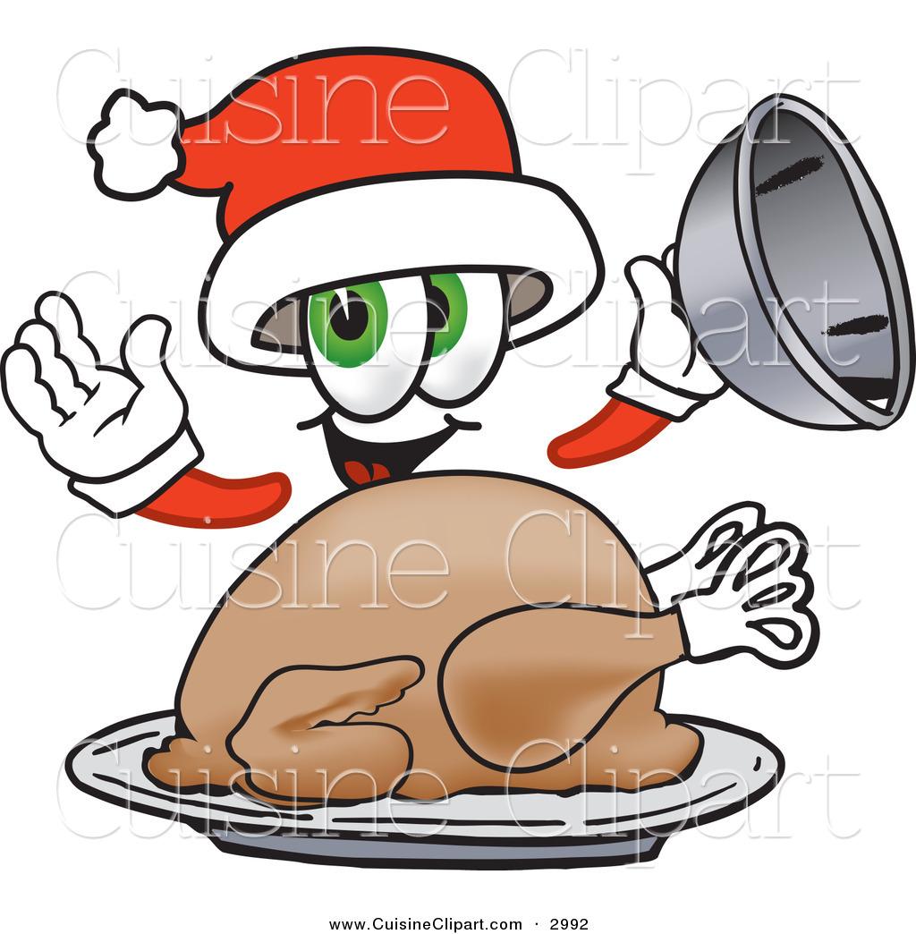 1024x1044 Cuisine Clipart Of A Cute Santa Claus Mascot Cartoon Character