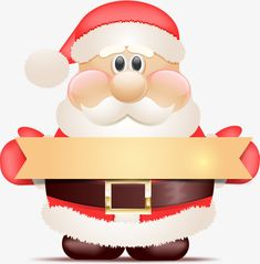 235x239 Cute Santa Claus With Gift Png Clipart