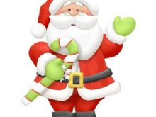 220x165 Father Christmas Clipart Santa Claus Father Christmas Head Smiling
