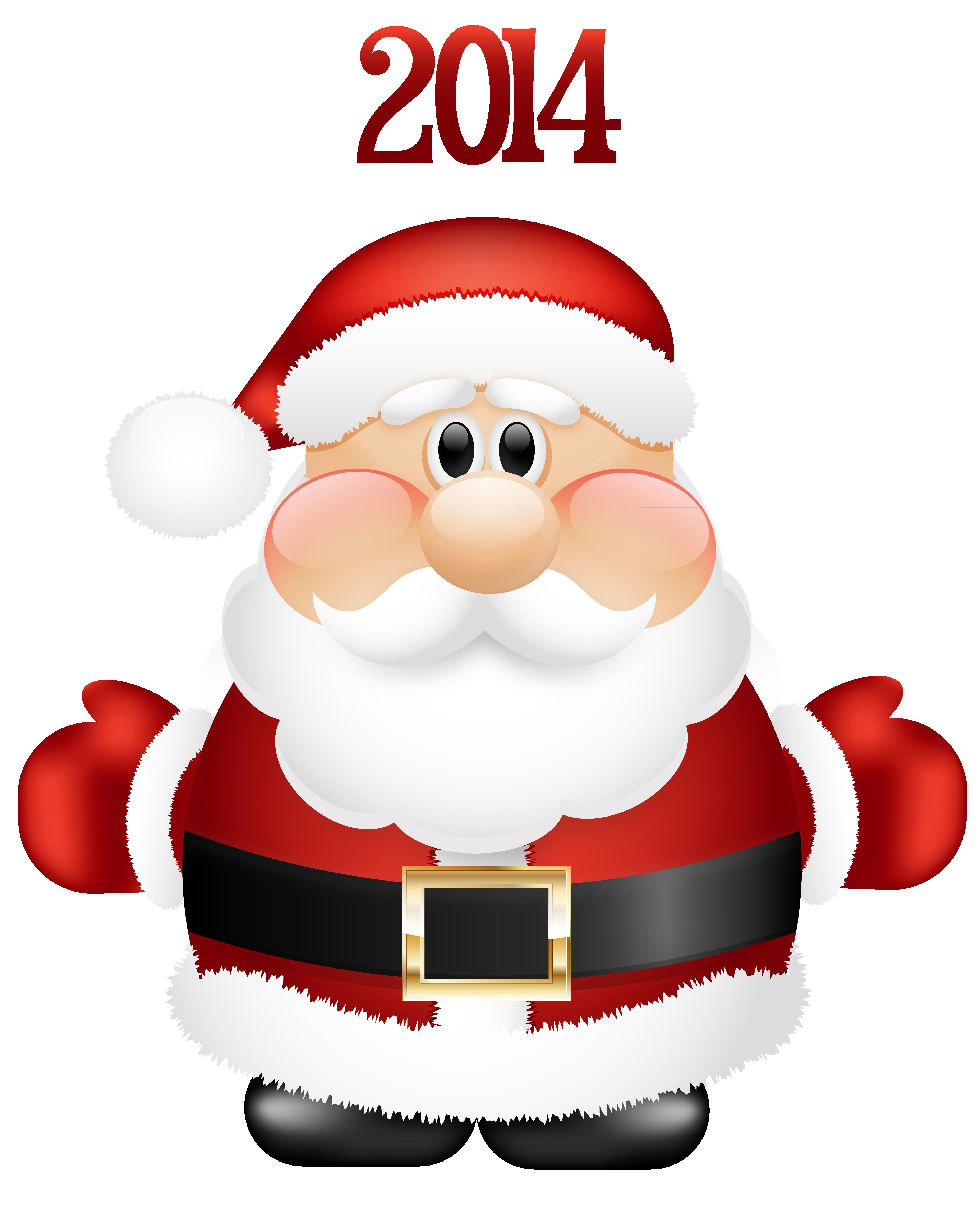 4687x5825 Transparent Cute Santa Claus 2014 Png Clipartu200b Gallery