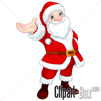 324x324 Clipart Santa Claus With Open Hand Cliparts Open