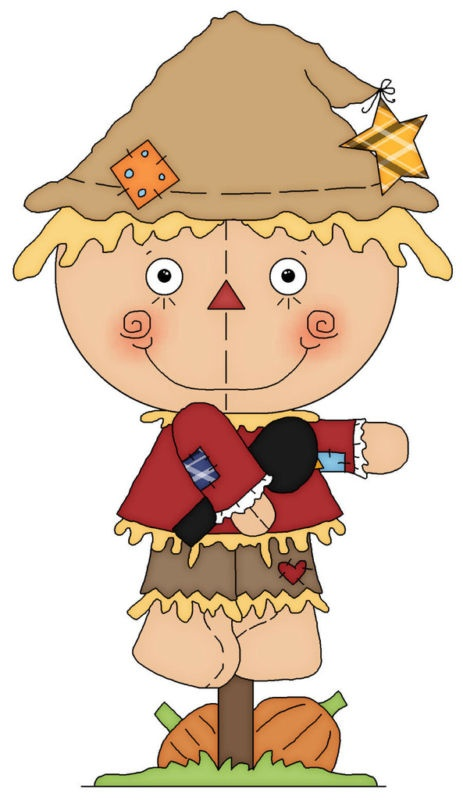 Cute Scarecrow Clipart