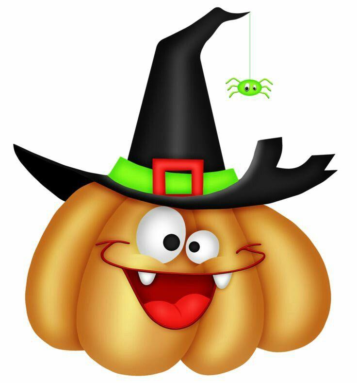 736x788 Cute Happy Halloween Clipart Color