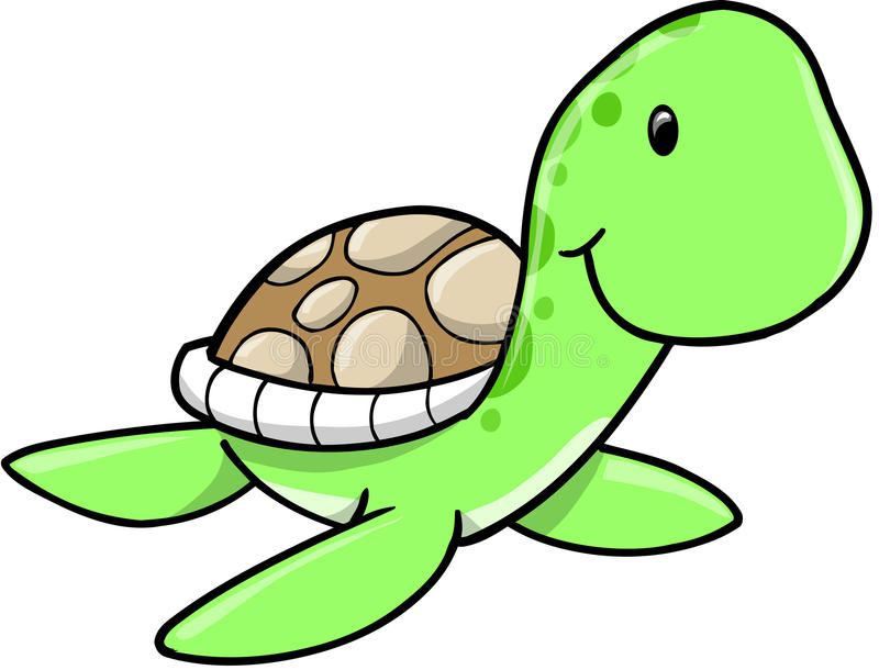 Cute Sea Animal Clipart
