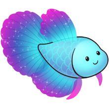 220x220 216 Best Clip Art, Etc. Fish Amp Sea Images On Painted