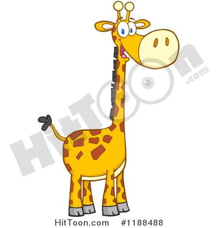 450x470 Giraffe Clip Art