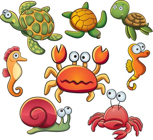 538x491 Water Animals Clipart Cute Sea Creatures Sea Creature Clip Art