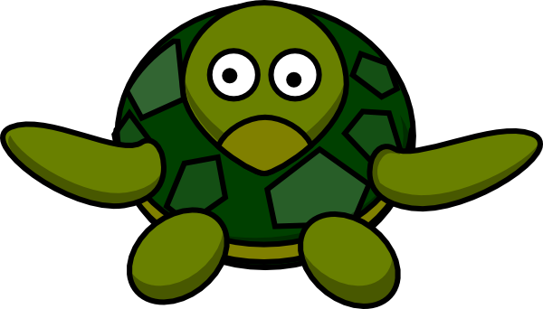600x342 Cute Turtle Clip Art