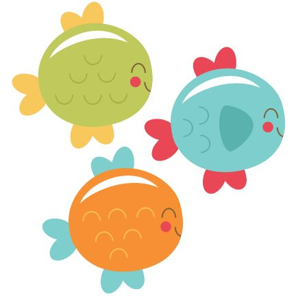432x432 Cute Fish Clipart For Kids