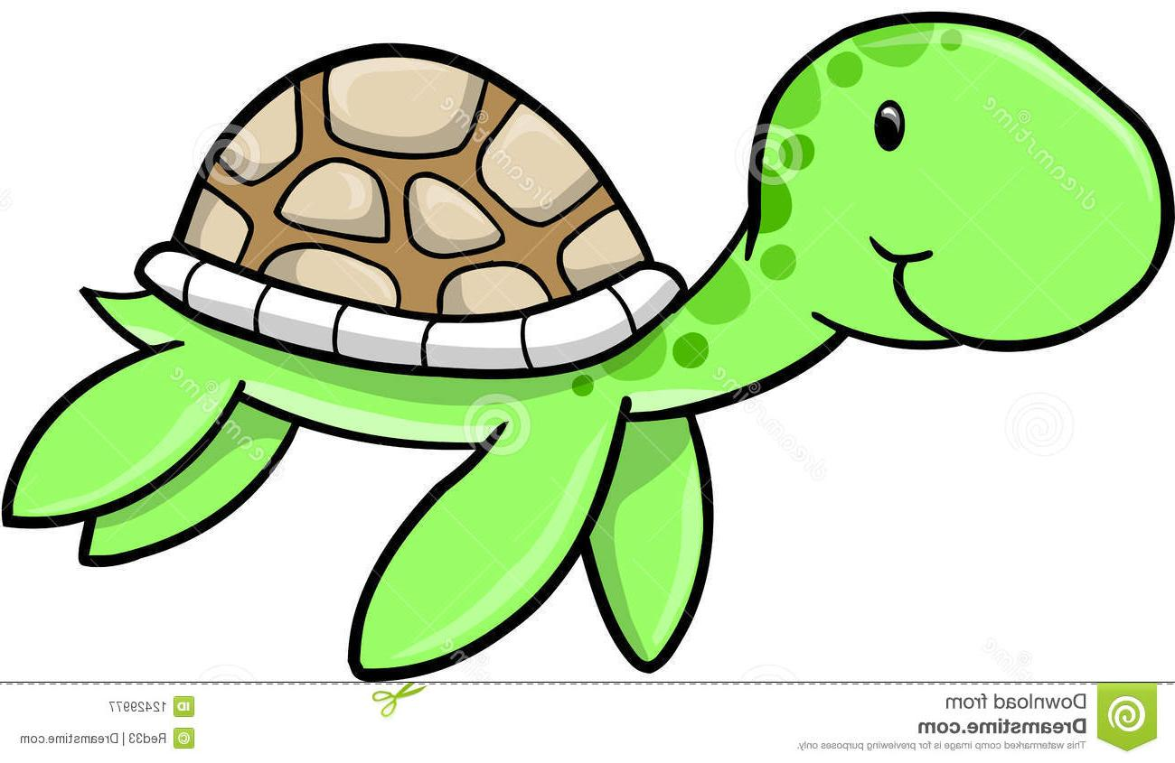 1300x845 Best Free Cute Sea Turtle Vector Images
