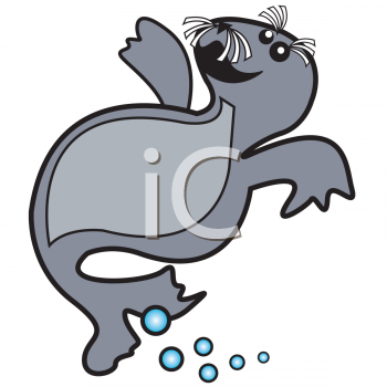 Cute Seal Clipart