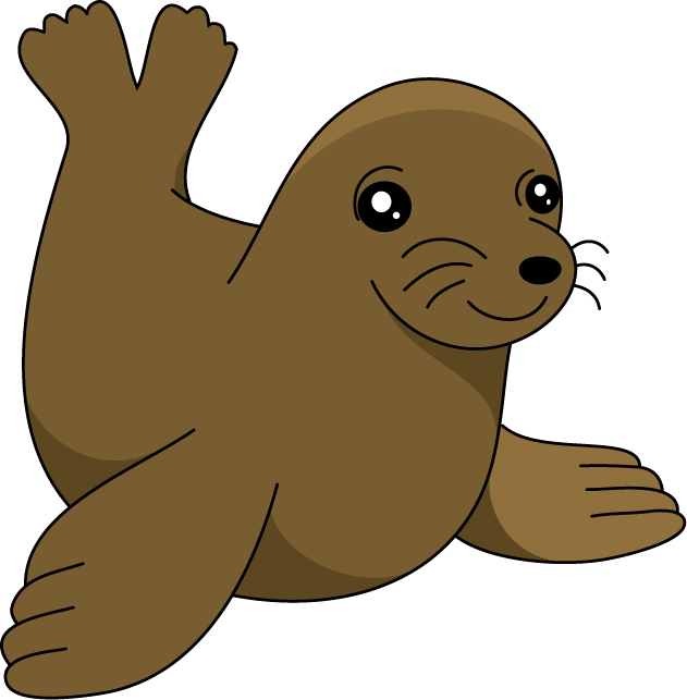 631x643 Collection Of Cute Sea Lion Clipart High Quality, Free
