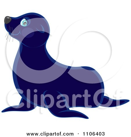 450x470 Royalty Free (Rf) Clipart Of Sea Lions, Illustrations, Vector