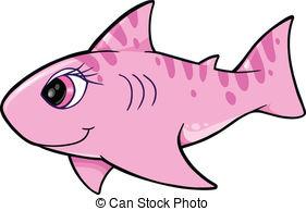 281x194 Cute Shark Vector Vector Clip Art