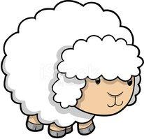 206x199 Cute Sheep Lamb Stock Vectors