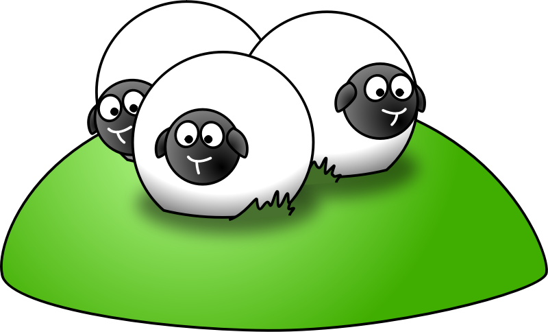 800x484 Download Sheep Clip Art ~ Free Clipart Of Cute Sheep Fluffy Hand