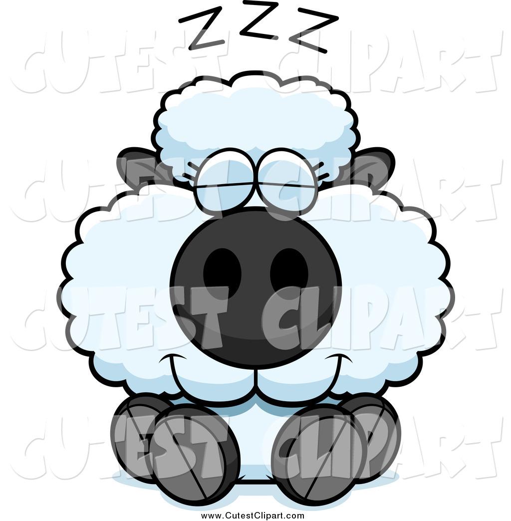 1024x1044 Cartoon Vector Clip Art Of A Cute Sheep Sleeping By Cory Thoman