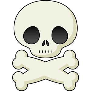 300x300 Cute Skull Clipart, Cliparts Of Cute Skull Free Download (Wmf, Eps