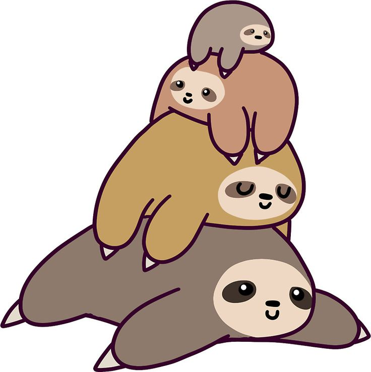 Cute Sloth Clipart