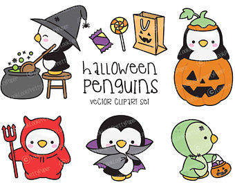 340x270 Premium Vector Clipart Kawaii Halloween Sloths Cute