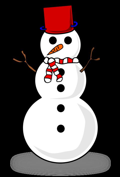480x706 Free Cute Snowman Clip Art Clipart Panda