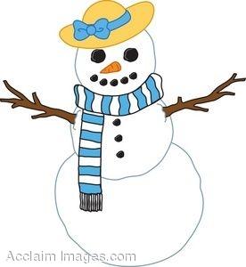 276x300 Girl Snowman Clipart 101 Clip Art